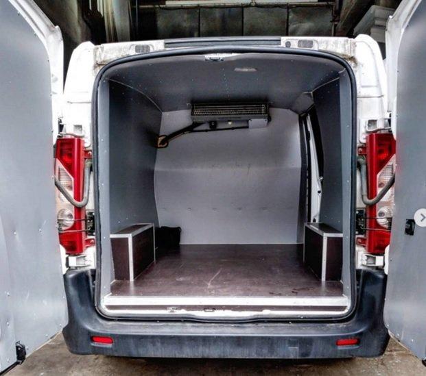 Утепление фургона: вид снаружи