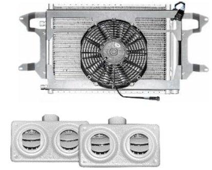 Автомобильный кондиционер 4,5 кВт