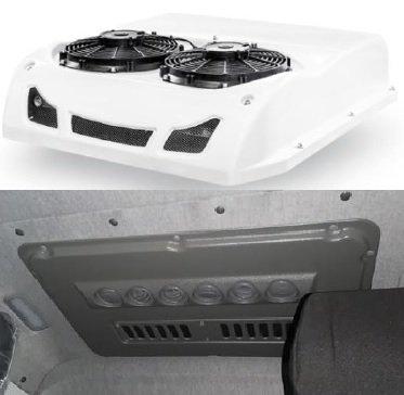 Автомобильный кондиционер моноблок накрышный 7 кВт