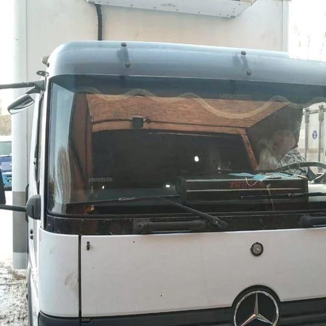 Рефрижератор на Mersedes (Мерседес) грузовик